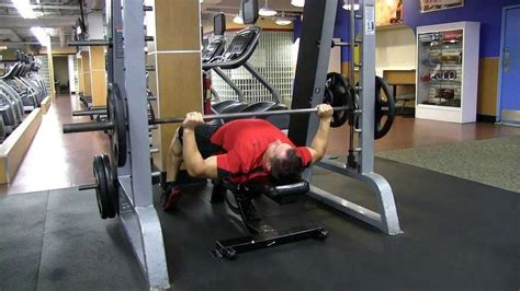 using smith machine for bench press smith machine bench press bodybuilding wizard