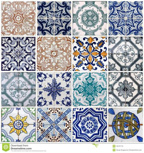 Building Floor Plans Free lisbon tiles royalty free stock photo image 19131115