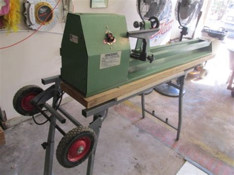 central woodworking central machinery wood lathe model 38515