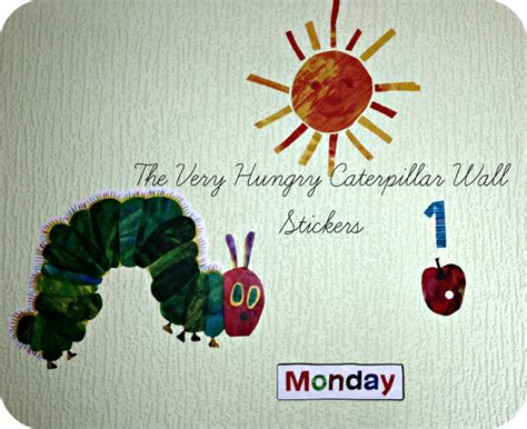 the hungry caterpillar wall stickers the hungry caterpillar wall stickers review