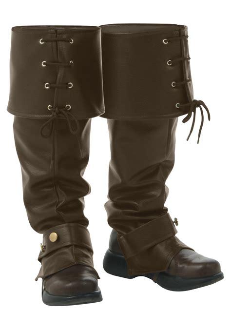 boot tops deluxe brown boot tops
