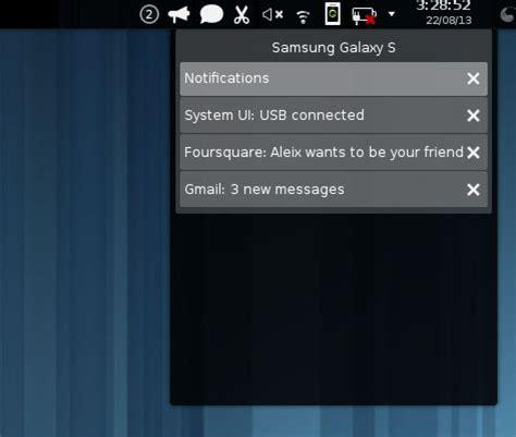 kde connect aims to bridge android & linux desktop omg