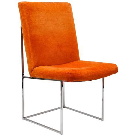 milo baughman armchair 6 mid century milo baughman chrome dining chairs for sale at 1stdibs