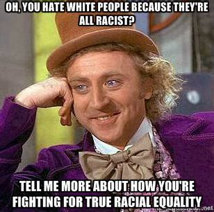 Muahaha Meme - why racism against white people is still racism