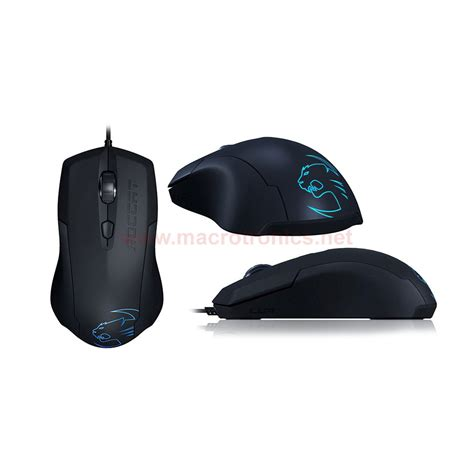 Mouse Gaming Roccat roccat lua optical gaming mouse black gaming keyboards and mice macrotronics computers l