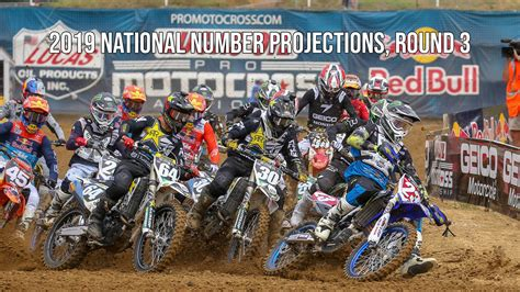 ama motocross national numbers 2019 ama national number projections 3 motocross