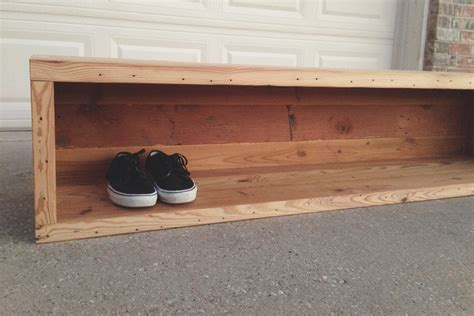 shoe storage with seat or bench reclaimed storage bench the grain