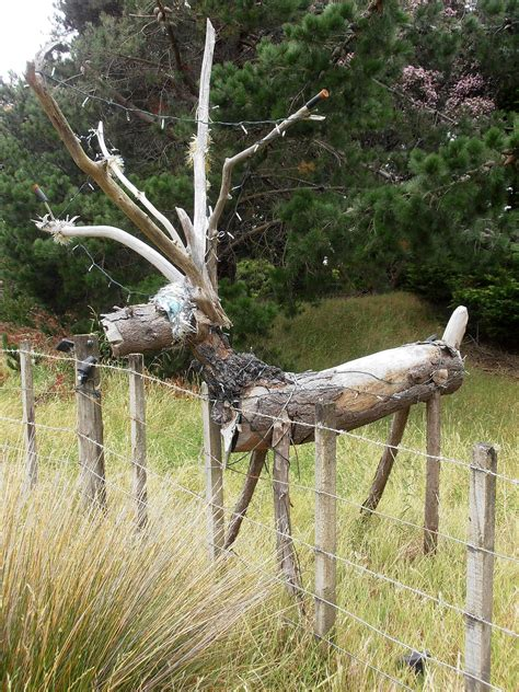 rustic reindeer outdoor wood christmas wood crafts