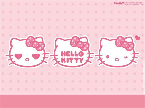 wallpaper computer kitty hello kitty pink wallpapers wallpaper cave