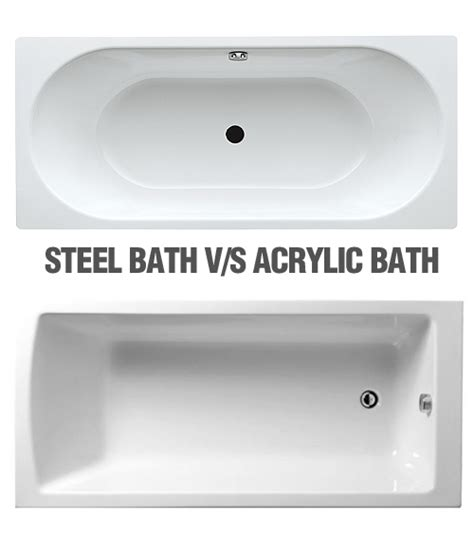 Steel Vs Acrylic Bathtub by Bathtubs Steel Vs Acrylic Reversadermcream