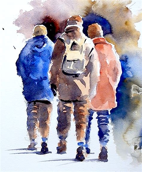 figure paint how to paint figures in watercolour by joanne at