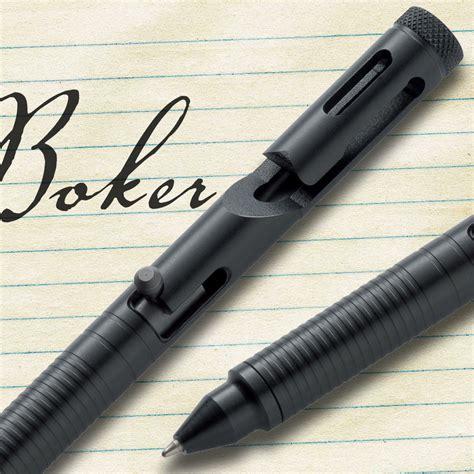 boker tactical pen 45 boker plus tactical pen 45 cal black chkadels survival cing gear