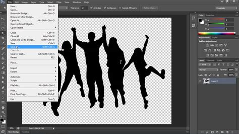 adobe illustrator cs6 remove background how to save image with a transparent background in