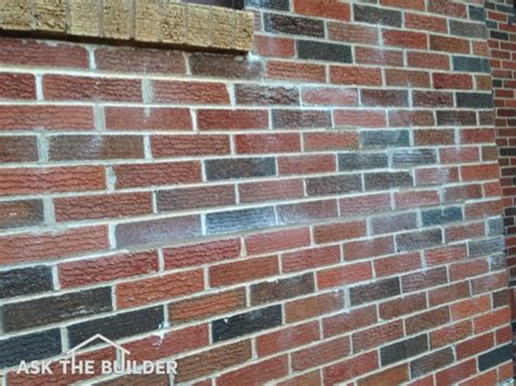 How To Clean Fireplace Brick And Mortar by Brick Mortar Clean Up Ask The Builder
