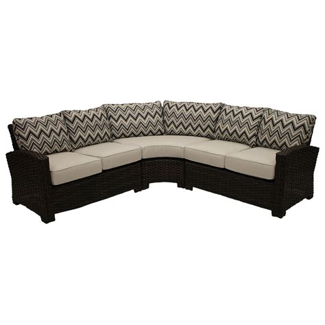 amalfi sectional tables seating fireplace stone patio
