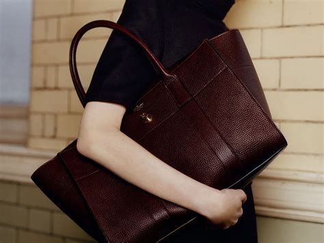 Tribute To A Timeless Classic Mulberrys Leather Bayswater Bag by Lyst Mulberry S Bayswater Bag Gets A Makeover