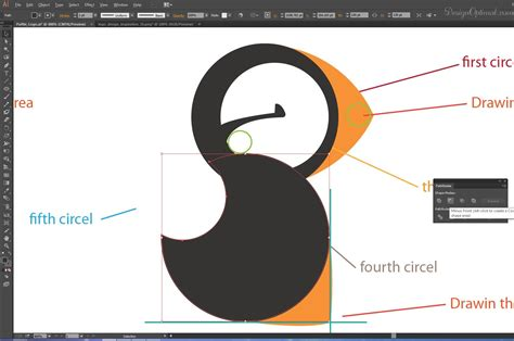 tutorial illustrator pathfinder how to create a cool and simple puffin logo using adobe