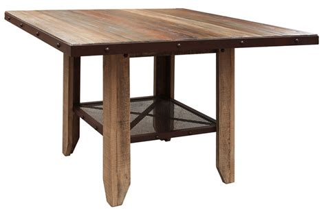 52 Inch Desk by Antique Multicolor Counter Height 52 Inch Dining Table