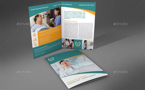 bi fold flyer template hospital bi fold brochure template vol 2 by owpictures