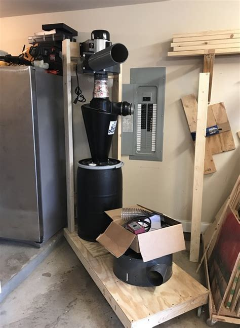 harbor freight dust collector super dust deputy