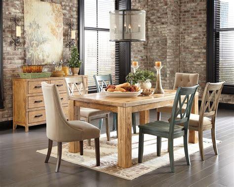 antique white dining room furniture d540 225 102 mestler mestler light brown upholstered side chair set of 2 from