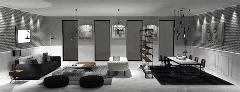 black interior house 30 black white living rooms that work their monochrome magic