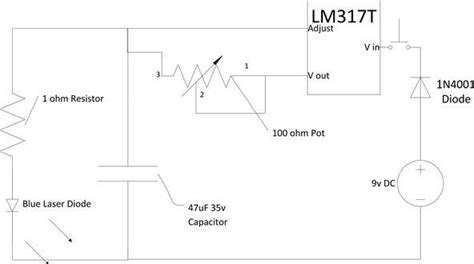 blue laser diode driver circuit laser diode driver circuit diagram