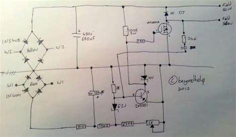 wiring diagram avr genset choice image diagram writing