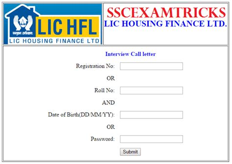 Lic Housing Finance Letter Format Lic Hfl Letter 2015 Declared Lic Housing Finance Ltd 2015