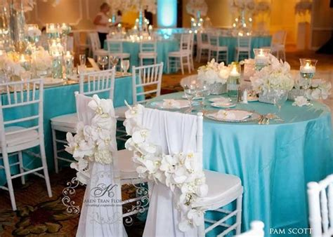Ideas For Turquoise Table Ls Design Id 233 Es Mariage Turquoise Blanc Carnet D Inspiration 1