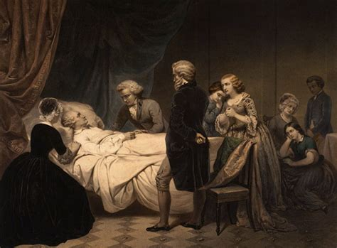 death bed george washington death