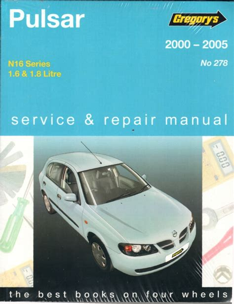 what is the best auto repair manual 2005 acura tl parking system nissan pulsar n16 2000 2005 gregorys service repair manual workshop car manuals repair books