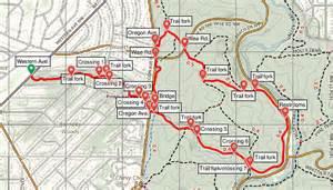 washington dc loop map pinehurst branch trail loop rock creek park dc live and let hike