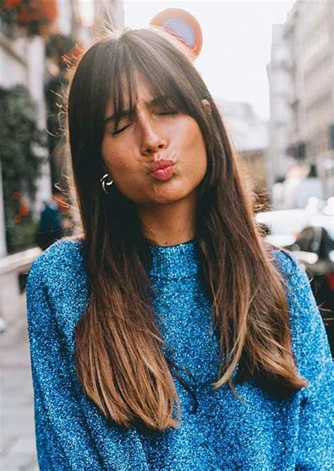 55 long haircuts with bangs for 2019 tips for wearing