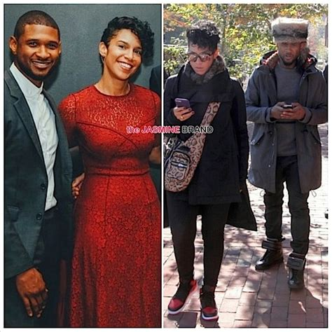 Ushers Engaged by Ear Hustlin Usher Allegedly Engaged To Grace