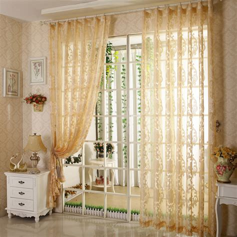 Yellow Sheer Curtains Curtains For Yellow Living Room Peenmedia