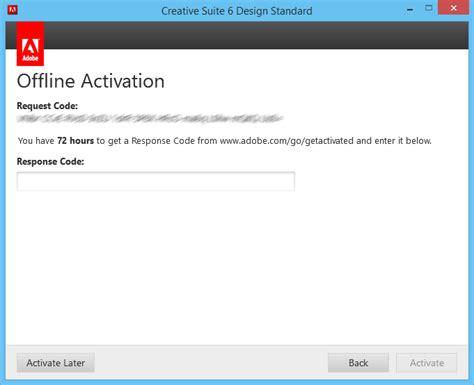 Adobe Premiere Cs6 Response Code | chriscientfic adobe cs6 registration for offline