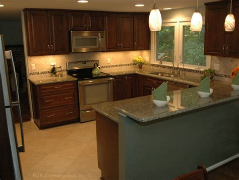 U Shaped Kitchen Remodel Ideas | u shaped kitchen remodel contemporary kitchen dc
