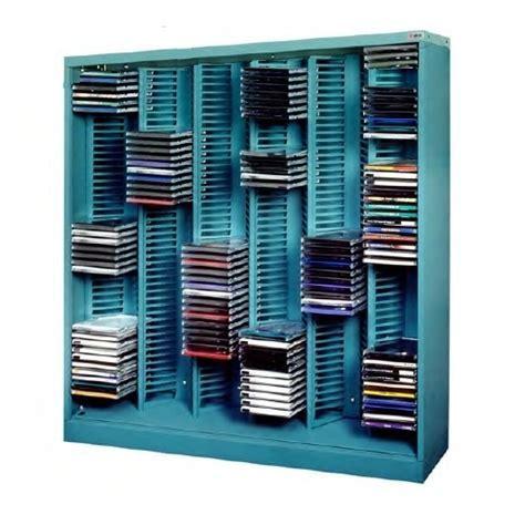 Media CD Storage Racks   CD Jewel Case Shelving Units
