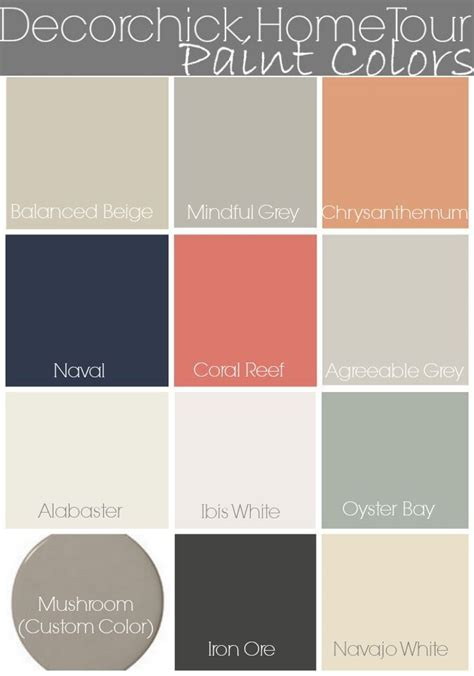decorchick paint colors and home tour www decorchick comcoral reef painting bathroom walls