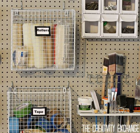 Superb Garage Wall Pegboard #5: DIY-Garage-Pegboard-Storage-Wall-using-only-5.5-inches-of-Depth.-The-Creativity-Exchange-1024x969.jpg