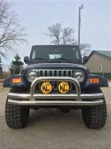 2006 jeep wrangler top buy used 2006 jeep wrangler 4 x 4 soft top 4 quot lift in