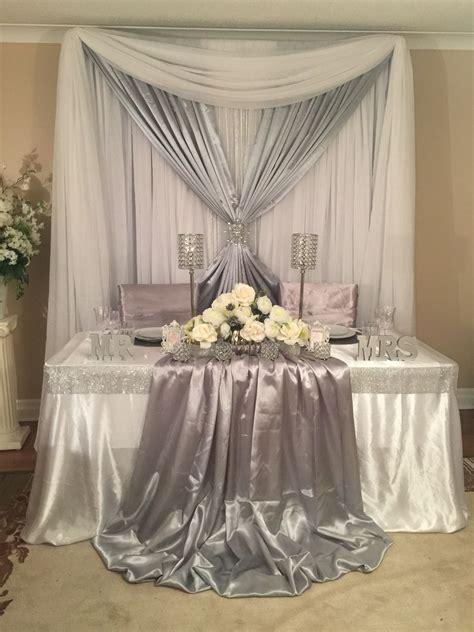 Sweetheart table wedding decor   Backdrops, Sweetheart and