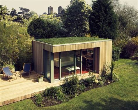Studio Ideas Green Roofs And Garden Studio On Pinterest Backyard Studio