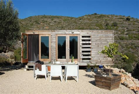 small house bliss a small prefab house in spain dmp arquitectura et al