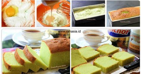 Kental Manis Enak Resep Pandan Cake Dengan Kental Manis Lembut Enak