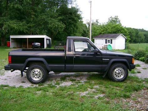 purchase used 1989 jeep comanche eliminator standard cab