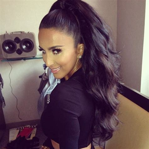 pony tail weave technique 385 best images about high ponytail on pinterest perfect