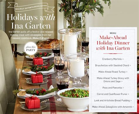 ina garten dinner party menu 17 best images about barefoot contessa inspiration on