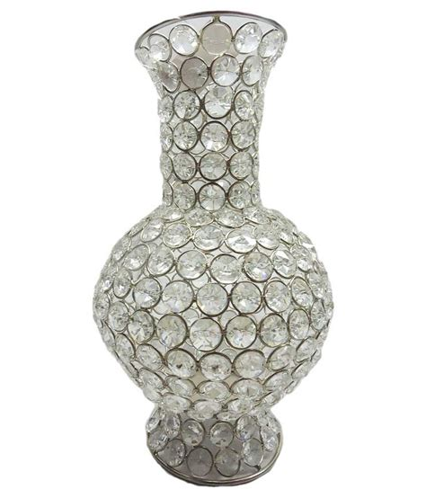 Bead Vase by Brass Gift Center White Bead Flower Vase Buy